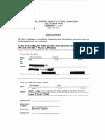 JQC Complaint Judge Davidson