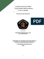 Laporan IHB Distomatosis Revisi 1