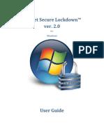 Inteset Secure Lockdown v2 User Guide