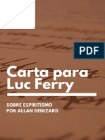 Carta a Luc Ferry