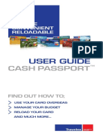 Cash Passport Travelex