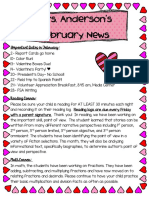 february newsletter 2017