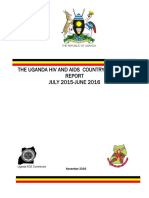 Uganda HIV/AIDS Country Progress Report 2015/16