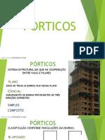 Estrutura Porticos