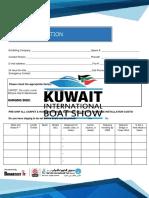 Kuwait international Boat Show. Boat information