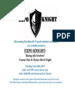 expo knight
