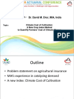 Parallel 5 - Climate cost of cultivation