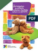 Dépliant - Enfant Médiation Pour Parents 2016