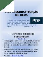 A Autissubstituição de Deus