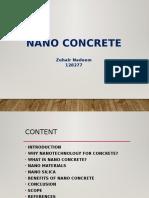 Civil Nano Concrete Ppt