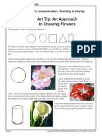 An Approach to Drawing Flowers