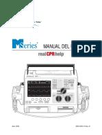 Zoll M-Series Defibrillator - User Manual (Es)