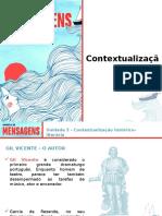 2. Contextualização Histórico-literária - Unidade 3