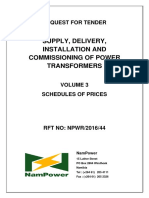 NPWR201644 - Volume 3 - Schedules of Prices