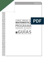 Guia Curso Matemática