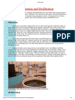Filtration Page