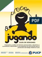Crecer Jugando. Guía de Sesiones