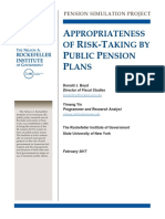 Pension 2017-02-01-Risk Taking Appropriateness