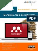 Guia Mendeley BcaCPR 2016-2017