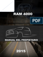 Manual Propietario Dodge Ram 4000-2015