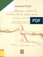 Kant-La polémica sobre la «Critica de la razón pura».pdf
