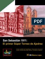 Chess -San Sebastián 1911