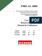 FIRE GL 4000 User's Manual