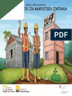 Construir mejor con manpostería (Calendario Cosude, Ecuador 2017)