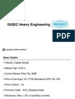 Isgec Stock Story1