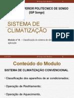 Modulo III- Classificação de Climatização