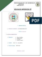 Calculos Básicos II