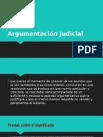Argumentación Judicial