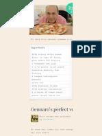 Gennaro's Perfect Vegetable Pizza