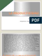 LA PRODUCTIVIDAD Fase 2 Gestion Empresarial
