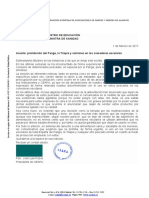 Carta de CEAPA Exigiendo Prohibicion de Panga y Tilapia