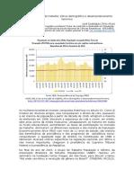 Crise no mercado de trabalho, bônus demográfico e desempoderamento feminino
