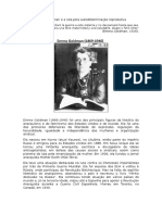 Emma Goldman e a luta pela autodeterminação reprodutiva