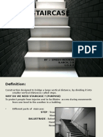 Bc Ppt on Stairs by Umesh Indoriya