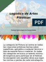 Logística de Artes Plásticas FIH 2017 Presentación