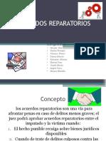 ACUERDOS REPARATORIOS diapositivas
