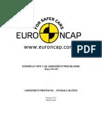 Euro Ncap Assessment Protocol Overall Rating v701