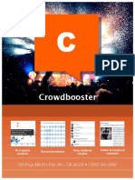 Crowdbooster Overview