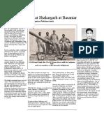 Fierce battles at Shakargarh at Basantar.docx