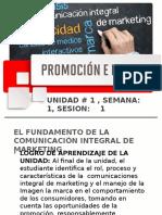 Promoción e imagen sem1.1