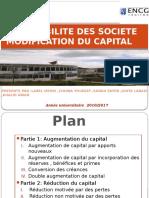 Modification Du Capital