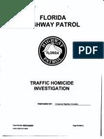 Florida Highway Patrol Traffic Homicide Investigation for Tesla Autopilot Crash
