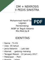 KS ULKUS DM + NEKROSIS  22.01.2017