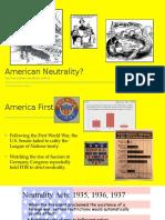 american neutrality in world war ii