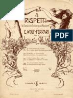Wolf Ferarri Rispetti.op.11