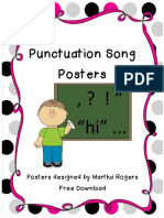 punctuation song posters TPT.pdf